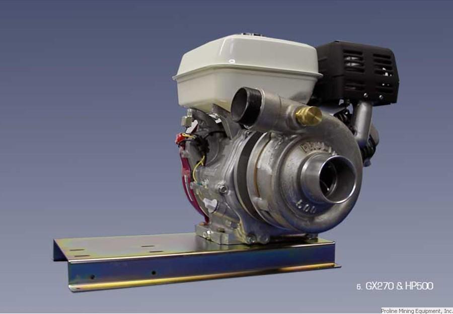 Proline HP500/Honda GX270 | A&B Prospecting